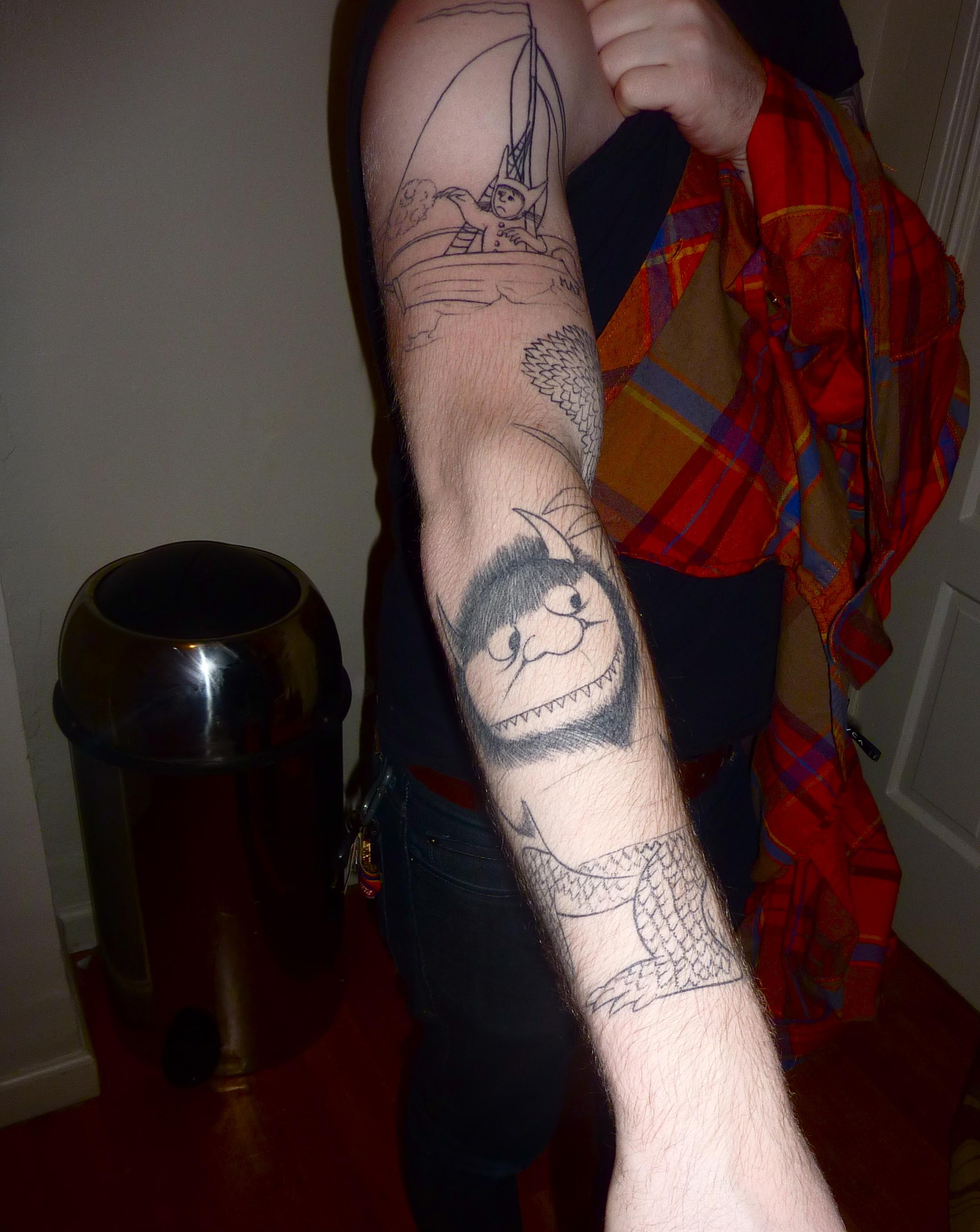 Where The Wild Things Are Tattoo Capslockkills